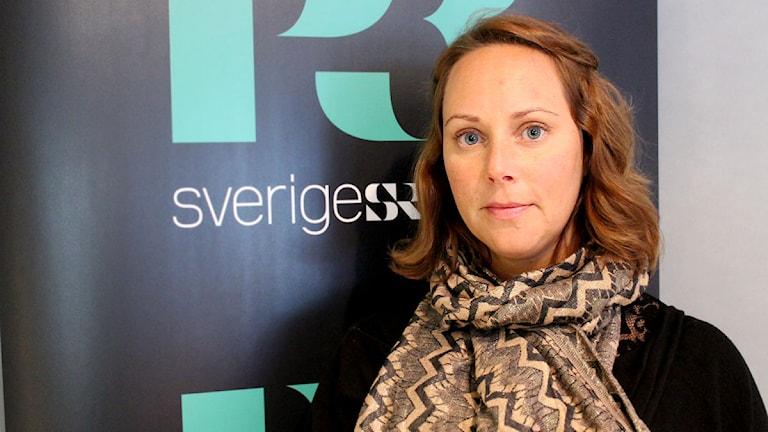 Sofia Sjöberg har forskat på rekrytering och menar att en matematisk formel gör processen mer effektiv. Foto: Emy Krüger/SR