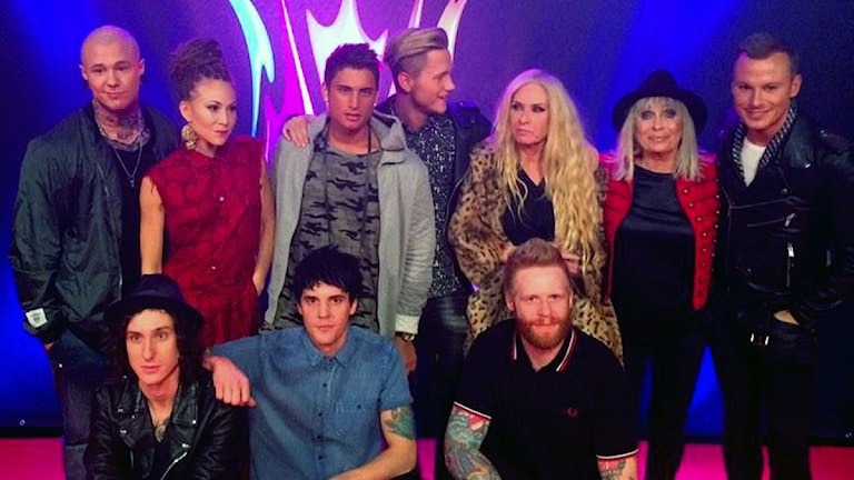 The artists competing in semi-final 2 in Melodifestivalen 2015. Photo: Olivia Berntsson / Sveriges Radio