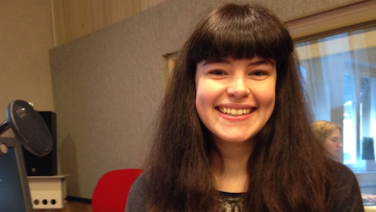 Alice Florin är en av alla som hinner fylla 18 år innan det extra valet i mars. Foto: SR