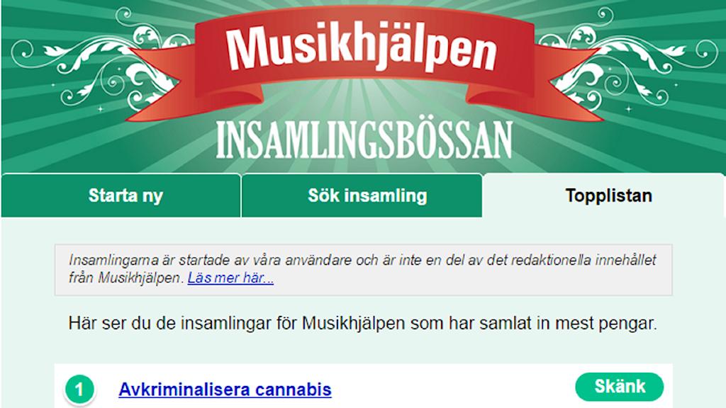 Foto: Printscreen Musikhjälpen