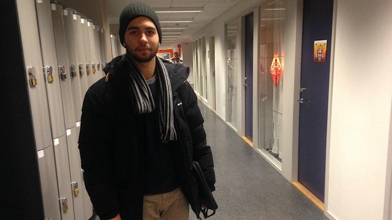 Dusan Marinkovic vet fortfarande inte om han finns med i romregistret. Foto: Martina Pierrou/Sveriges Radio