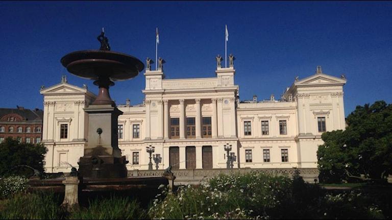 Lunds universitet  kommer ha betydligt färre utomeurpoeiska studenter nästa år. Foto: Martina Pierrou/Sveriges Radio