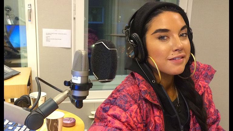 Maxida Märak. Foto: P3 Nyheter