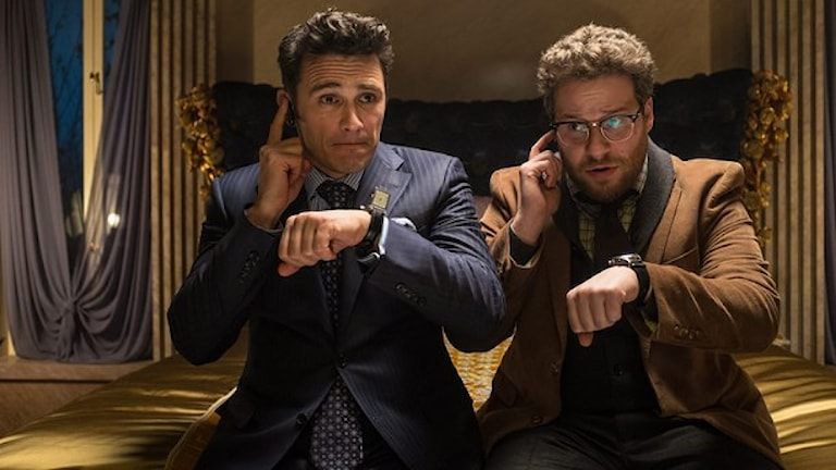 "James Franco och Seth Rogen i ""The interview"". Foto: Columbia Pictures/AP/TT"