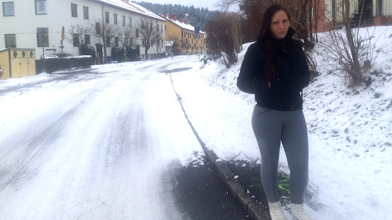 Daniella har sålt sex i Göteborg Foto: Aldijana Talic/Sveriges Radio