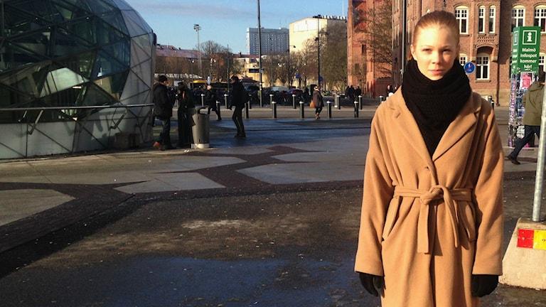 Maria Berg har själv haft en ätströnning som tonåring. Idag jobbar hon på Frisk & Fri. Foto: Martina Pierrou/P3 Nyheter