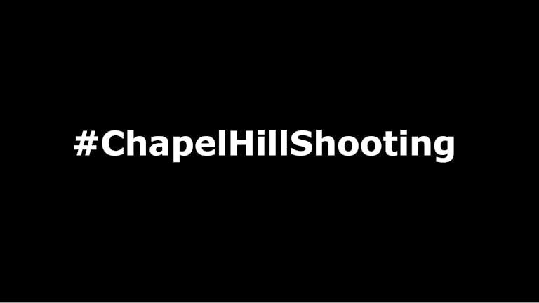 Mediebevakningen av dådet i Chapel Hill i North Carolina får mycket kritik, bland annat under hashtaggen #ChapelHillShooting på Twitter.