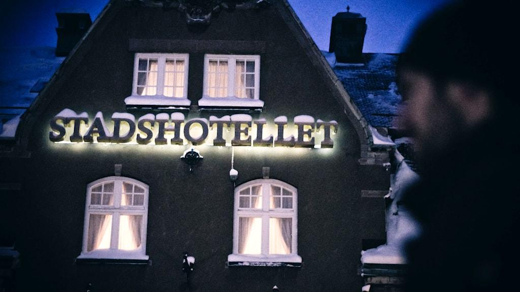 Entrén till Elite stadshotellet i Västerås