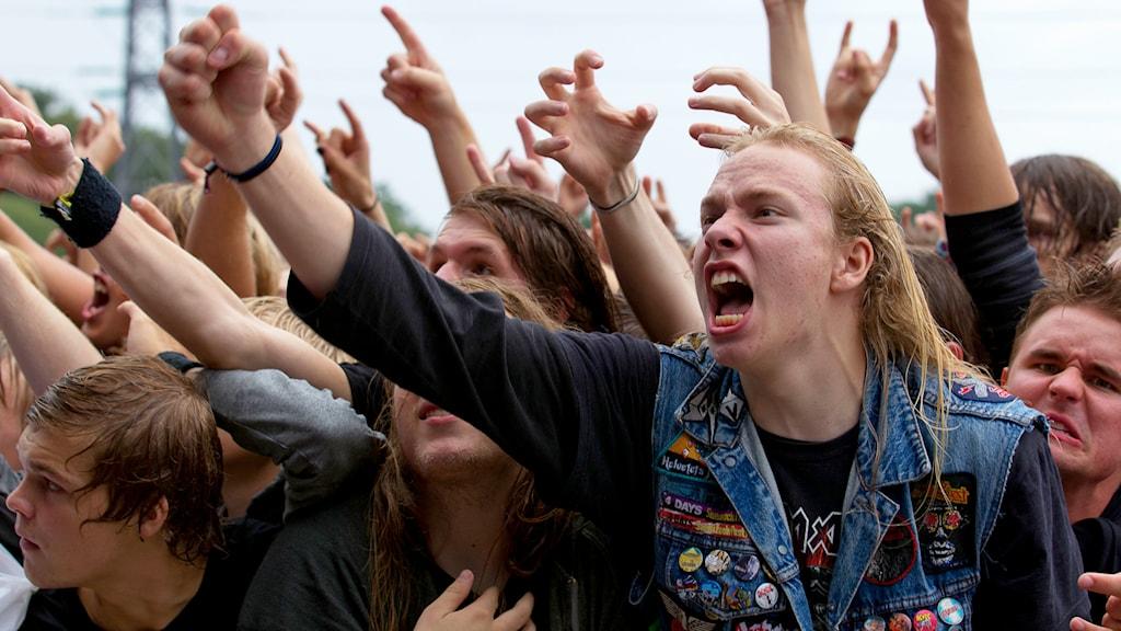 Publik på  Sonisphere Festivalen 2010 på Stora Skuggan i Stockholm