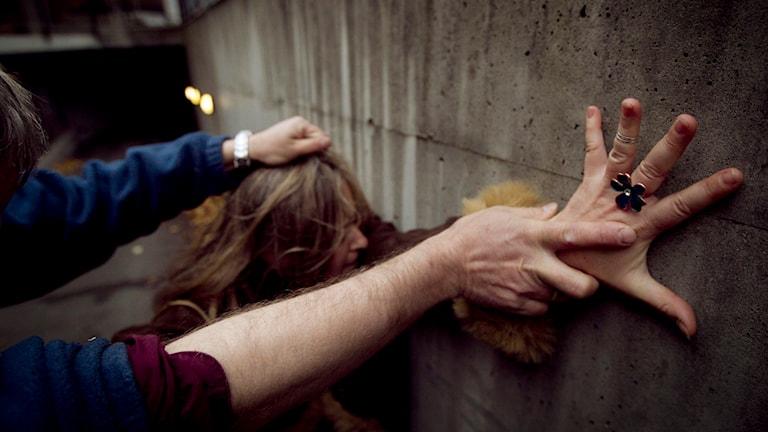 Överfall, övergrepp, sexbrott, våldtäkt Foto: Heiko Junge/TT