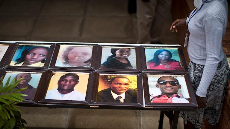 Garissa, minnesstund, terrorattentat, Kenya Foto: Ben Curtis/TT
