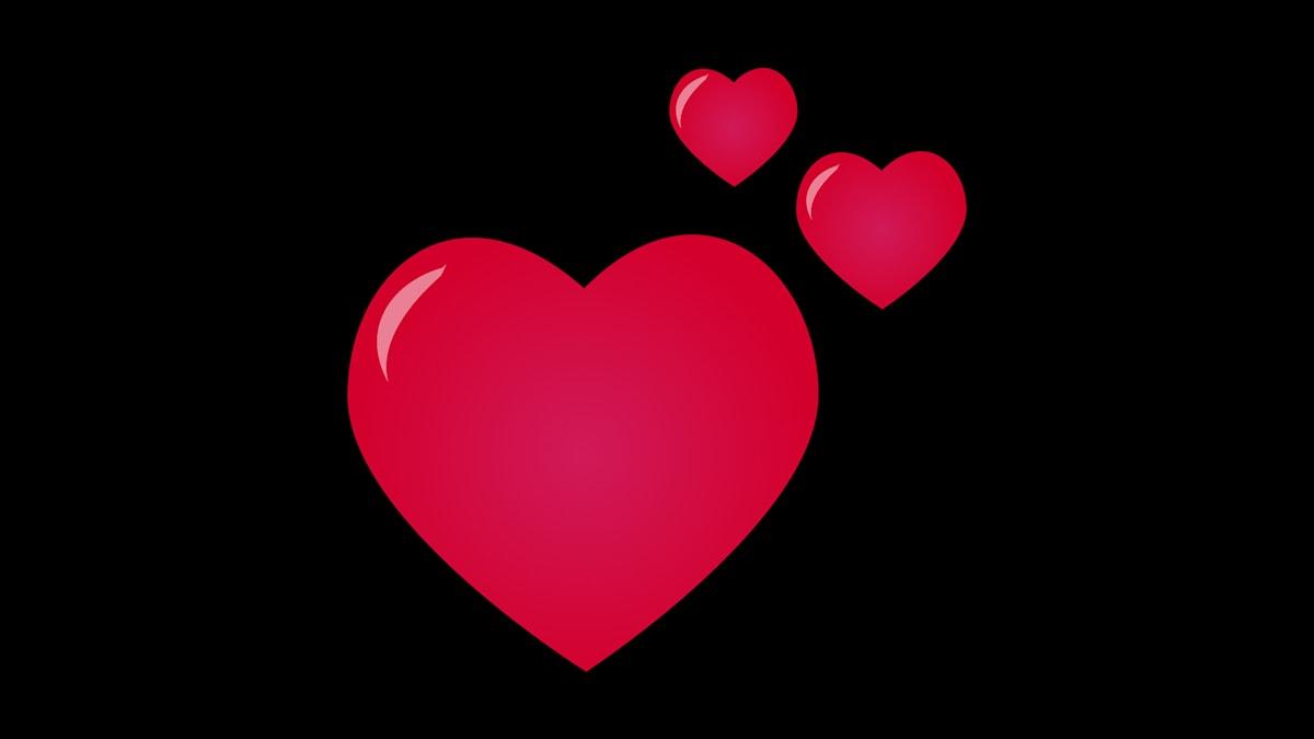 Hjärta, kärlek, förhållande Foto: Emmy Jokinen/Sveriges Radio
