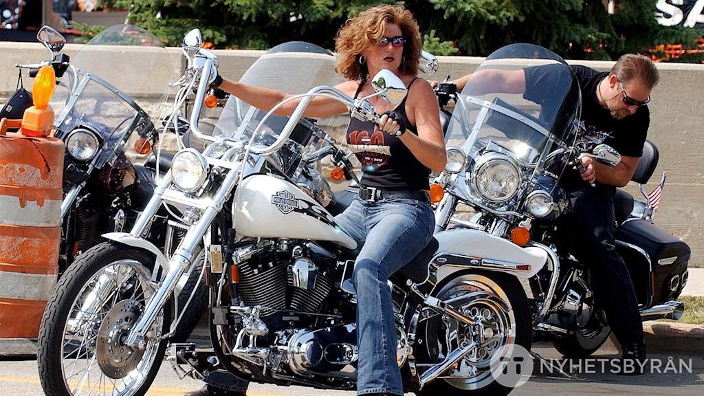 Nu blir det lättare för kvinnor att ta körkort för motorcyklar Foto: Stehpan Savoia/TT