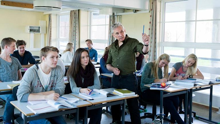 Lärare högskola Foto: Berit Roald/TT