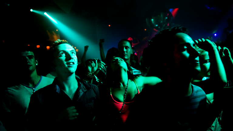 Folk som dansar på klubb, Foto: David Magnusson / SvD / TT