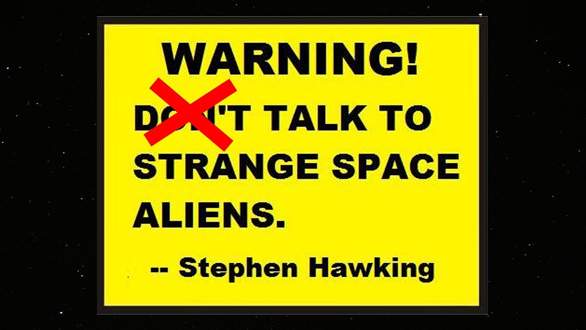 "Stephen Hawking ""citat"""