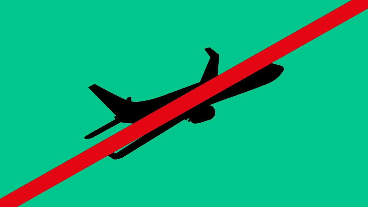Inga flyg
