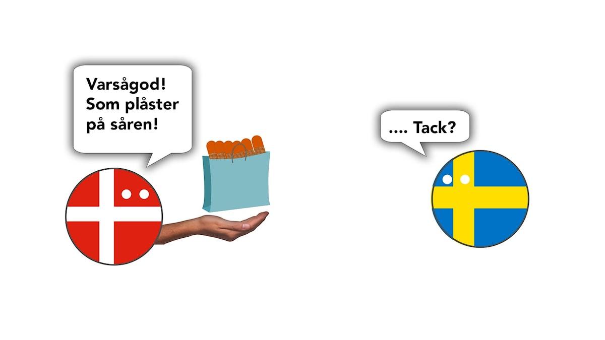 Plåster på såren från Danmark