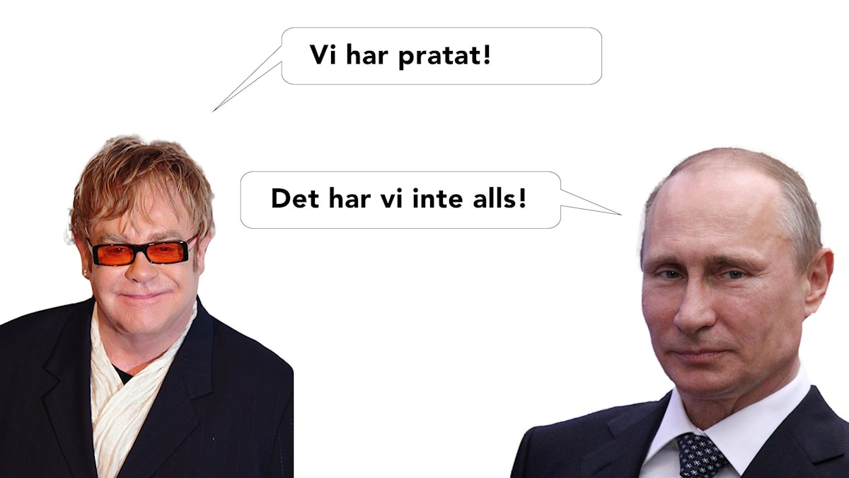 Elton och Putin