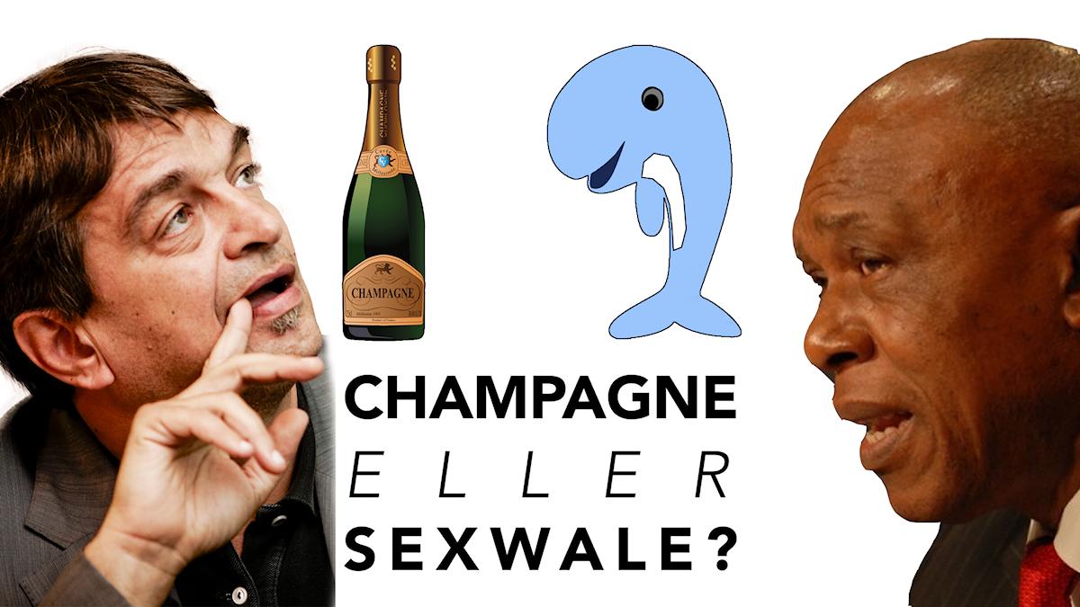 Champagne eller Sexwale
