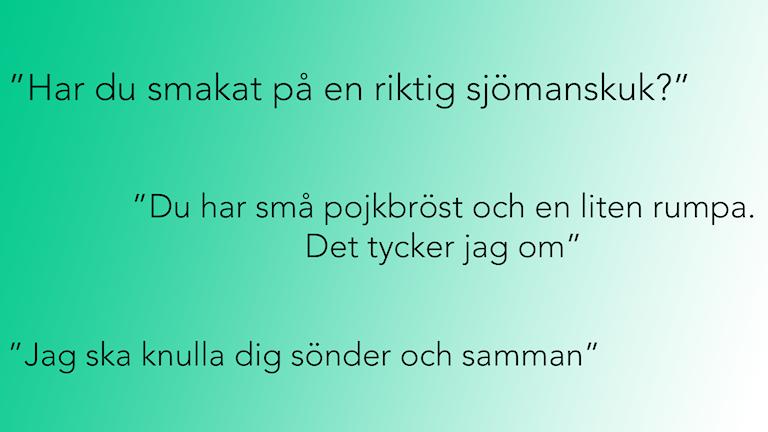 Sexism på högskolor och universitet. Bild: Olivia J Berntsson/Sveriges Radio