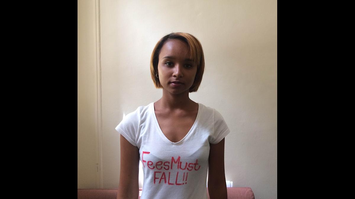 Nakita Matthews, student. Foto: Palmira Koukkari Mbenga
