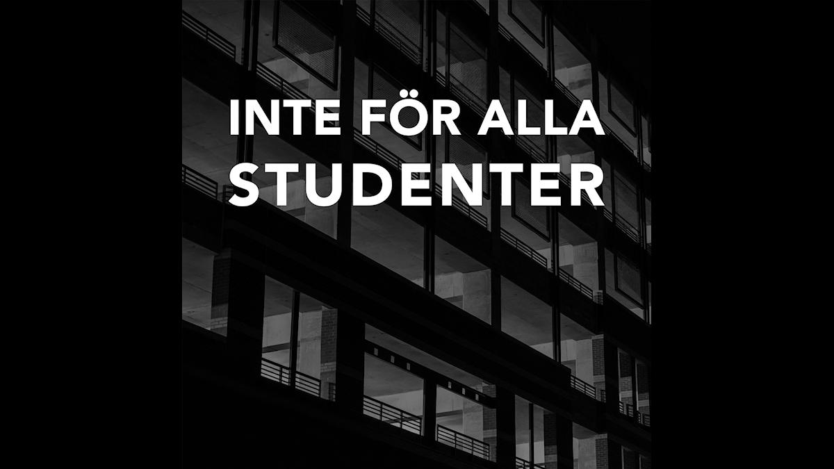 Inte alla studenter får studentboende