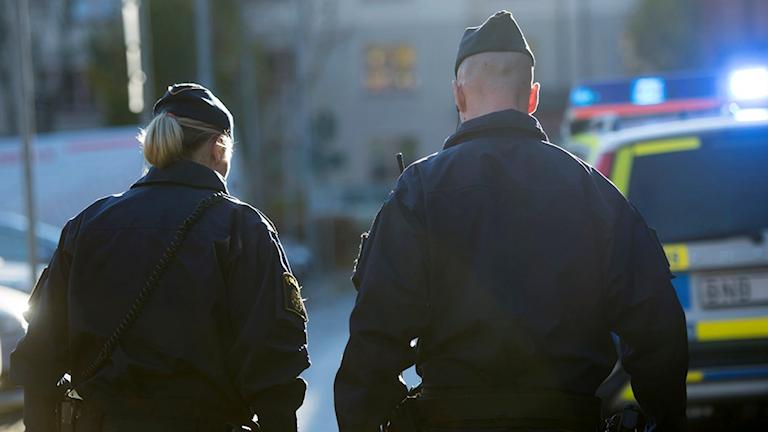 Polisstudenter mår psykiskt dåligt över anställningsprocessen. Foto: Fredrik Sandberg/TT