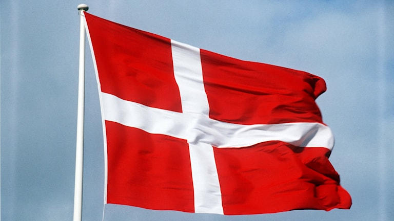 Dansk flagga.