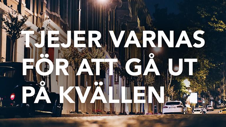 Varning. Grafik: Aleksander Djorjevic/Sveriges Radio