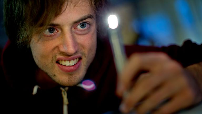 Jonas von Essen är svensk mästare i pi-decimaler. Foto: Adam Ihse/TT