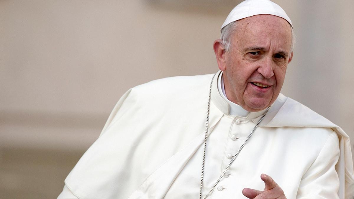 Bild på Påve Franciskus
