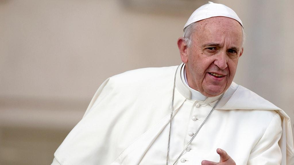 Bild på påven.