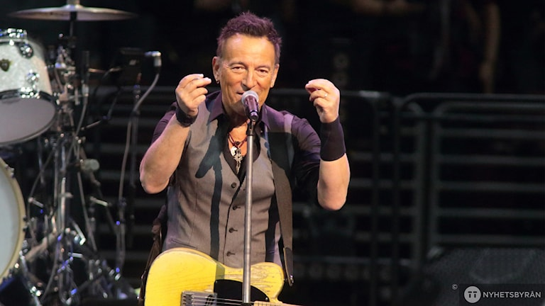 Bild på Bruce Springsteen.