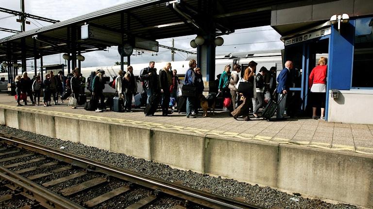 Vid tågstrul utanför Sverige kan man vända sig till Konsument Europa för hjälp.