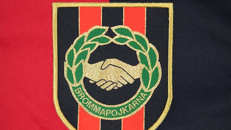 Brommapojkarna logotyp.