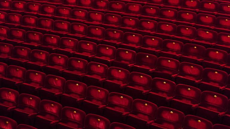 Bild på stolar på Kungliga operan