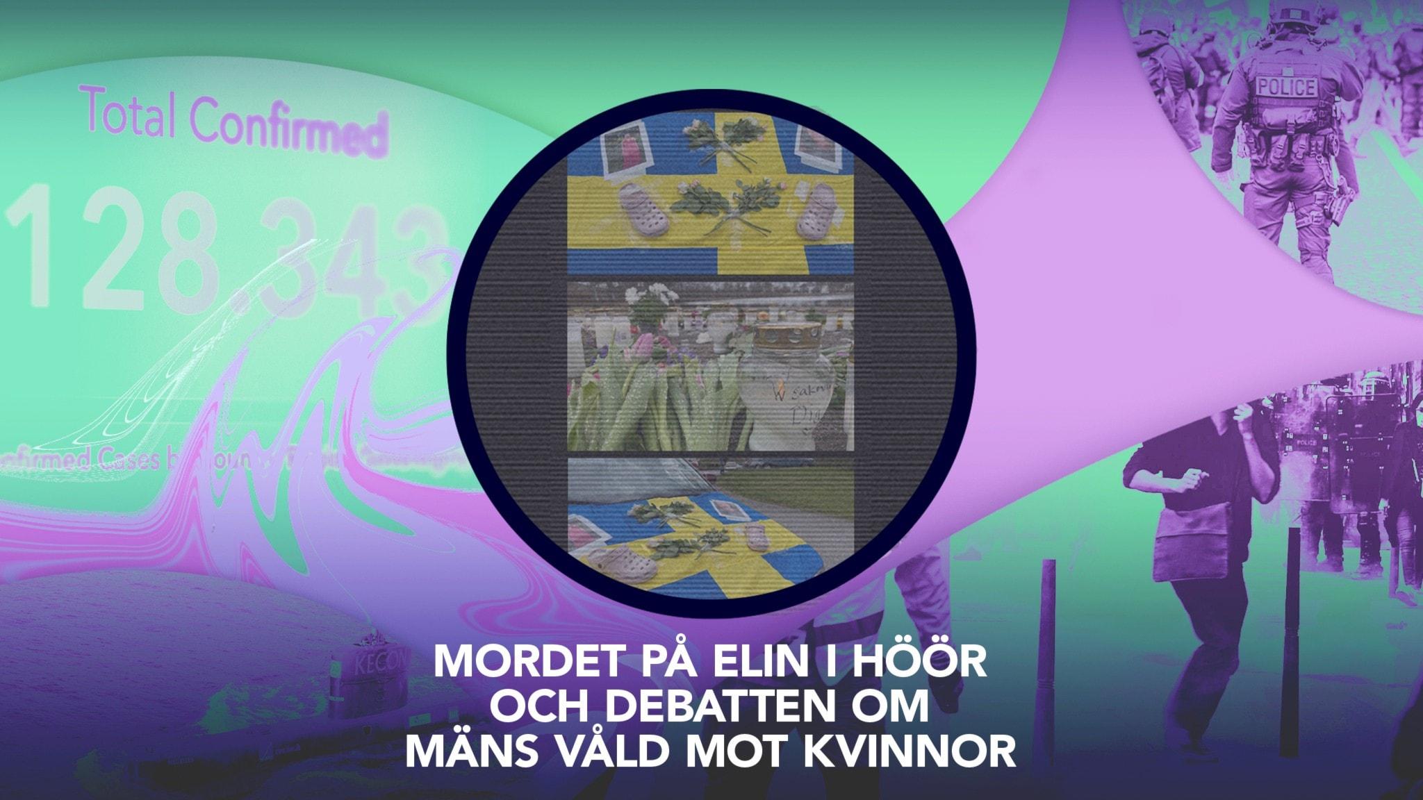 Mordet på Elin i Höör och debatten om mäns våld mot kvinnor.