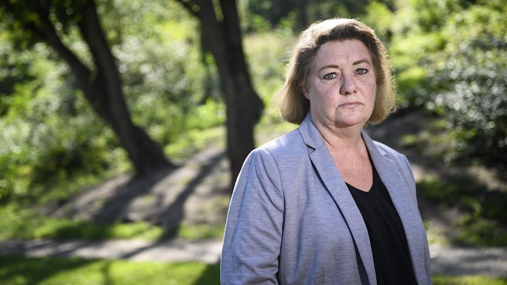 Katarina Söderberg, mamma till ihjälskjutne Eric Torell.