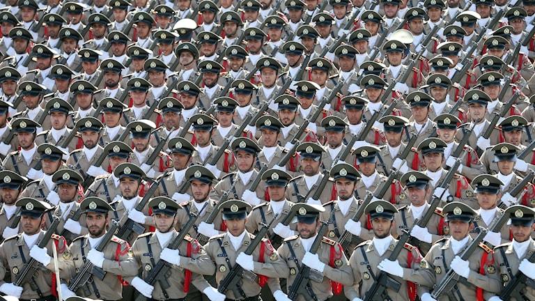 Bild på militärer