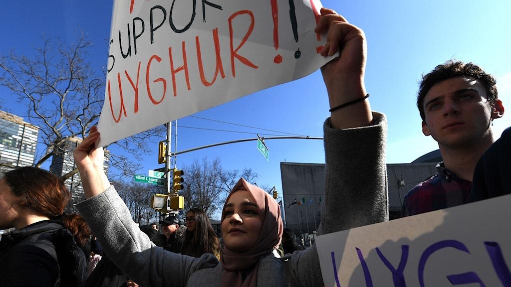 Människorna på bilden är inte med i inslaget. Foto: TIMOTHY A. CLARY/AFP