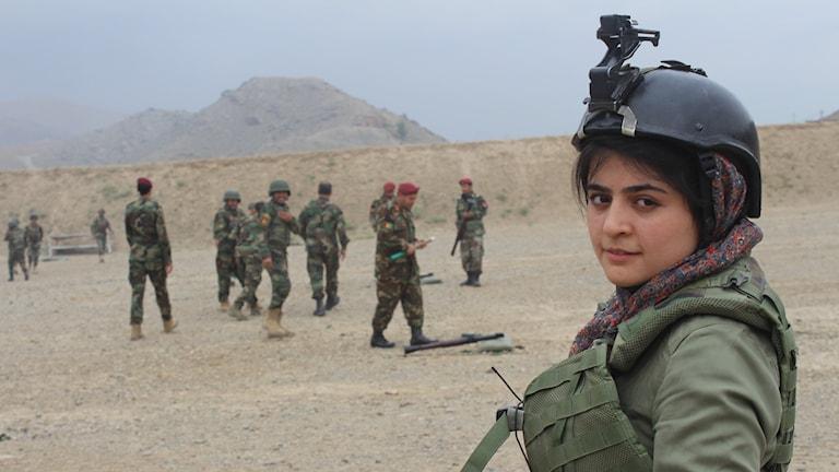 bild på Najwa Alimi i Afghanistan