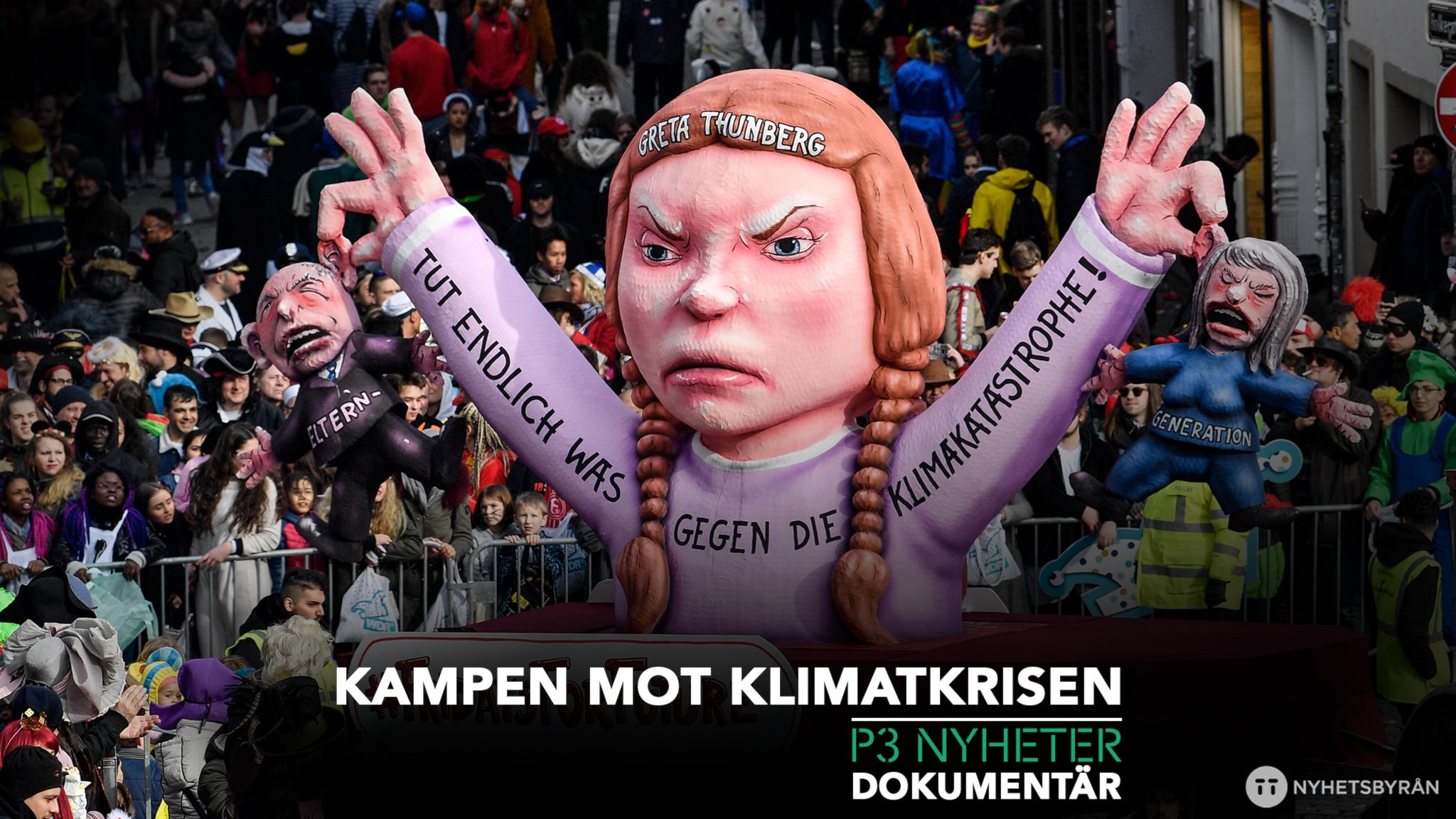 Kampen mot klimatkrisen - P3 Nyheter Dokumentär