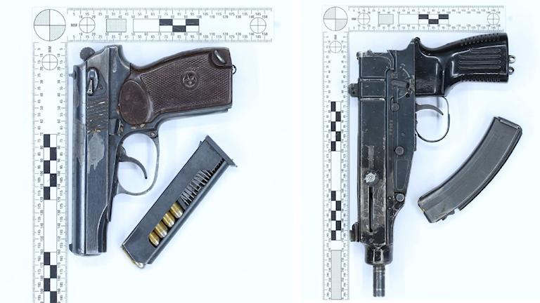 Två personer döms för grovt vapenbrott