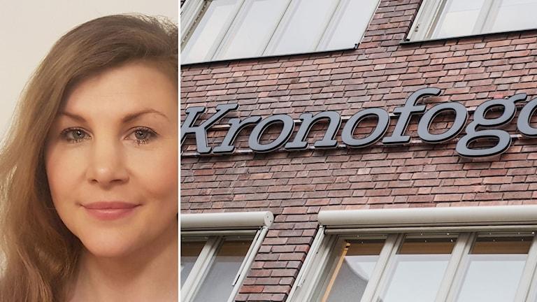 Anne-Marie Kagarp försöker få ett ideellt skadestånd från Kronofogden med hjälp av Stiftelsen Centrum för rättvisa.