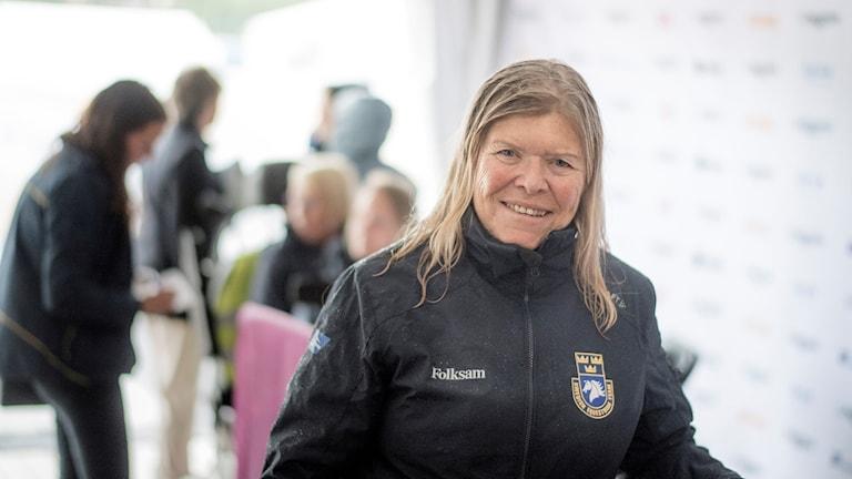 Lagledaren och förbundskaptenen Agneta Aronsson.