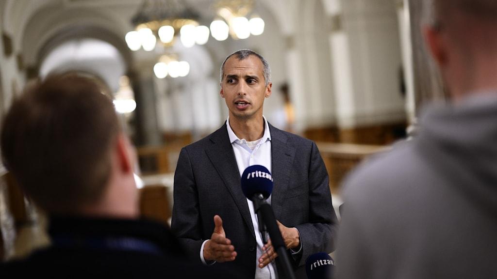 Den danske integrationsministern Mattias Tesfaye.