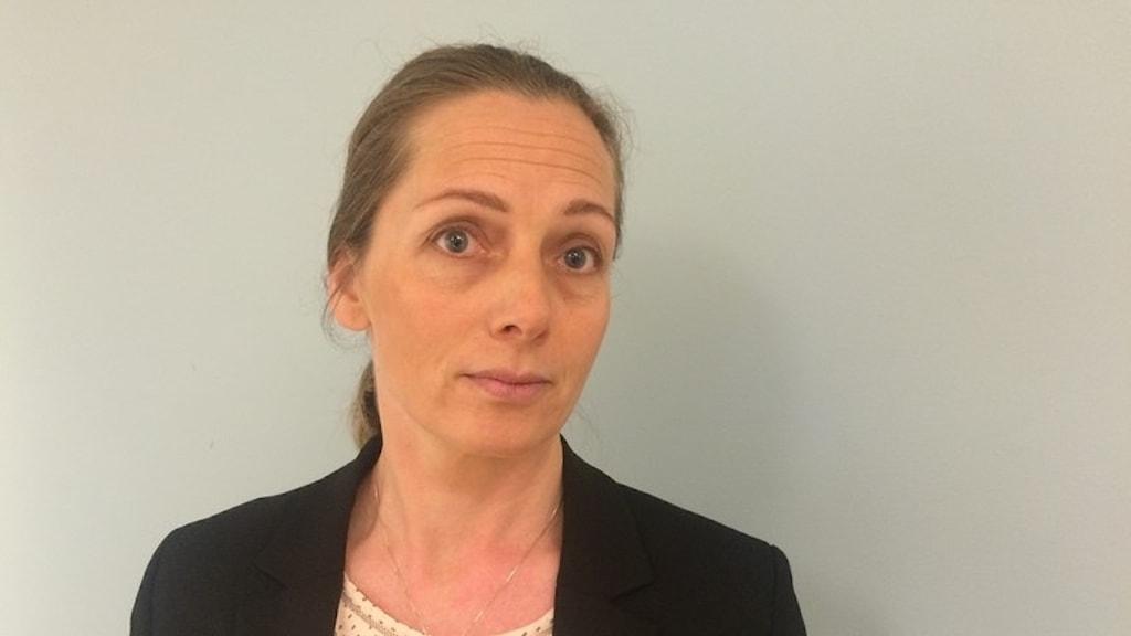 Linda Thörnell är chef för Nationellt centrum för terrorhotbedömning, som varje dag arbetar med att bedöma terrorhotet mot Sverige.