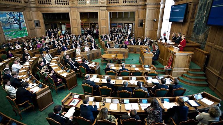 Danska parlamentet.