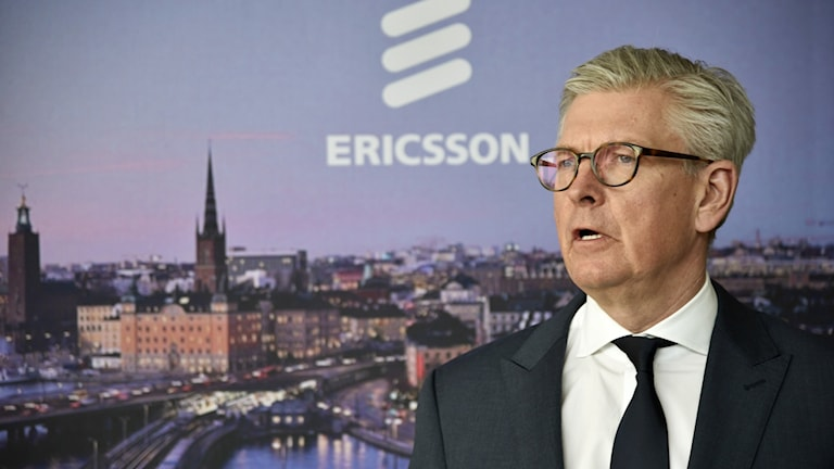 Ericssons vd Börje Ekholm. Ericsson kommer idag med sin kvartalsrapport.